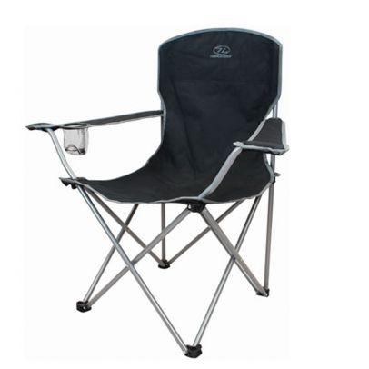 Сгъваем къмпинг стол с подлакътници 201778-01