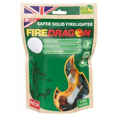 Сух спирт за подпалка Firedragon 6 x 27 g 200947-01
