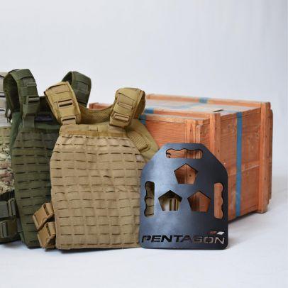 Плочи за бронежилетка METALLON 202098-01