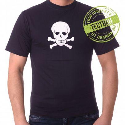 Тениска с череп и кости 200187-01