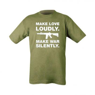 Тениска Make Love Loudly 202624-01
