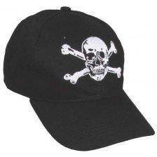 Бейзболна шапка с черепи кости