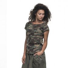 Дамска камуфлажна тениска Woodland