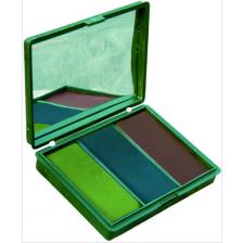 Бои за лице 3 цвята BCB с огледало