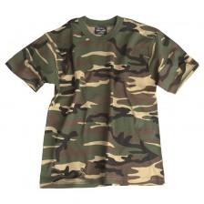 Детска камуфлажна тениска