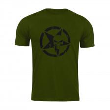 Тениска Punisher Army Green