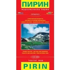 Туристическа карта на Пирин