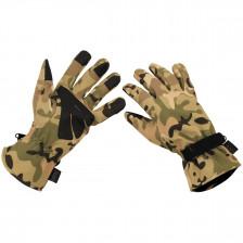 Софтшел ръкавици MFH Camo