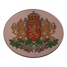 Нашивка Български герб 90/72 мм