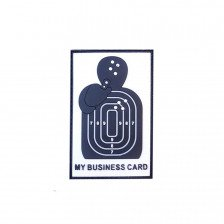 Гумена нашивка Business Card