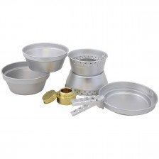 Алуминиев комплект за хранене и готвене MFH