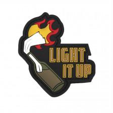 Гумена нашивка Molotov Light it up