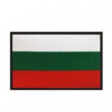 Нашивка с българско знаме с велкро - 5х8 см