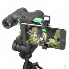 Carson стойка за свързване на смартфон към всякакъв вид оптични уреди IS-200