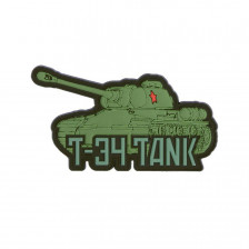 Гумена нашивка T-34 tank 3D