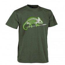 Тениска Chameleon Skeleton